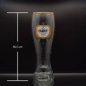 2L Farny Weizenbierglas