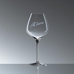 """One"" Weinglas"