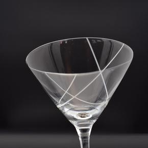 Classico Martini Cocktailglas dekoriert