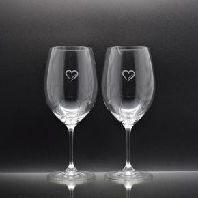 VINUM Cabernet Sauvignon / Merlot mit Herz 2-er SET